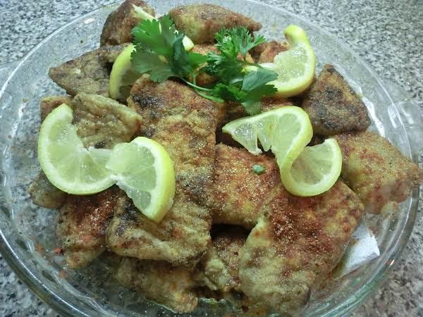 Garlic/paprika Tilapia Chunks Recipe