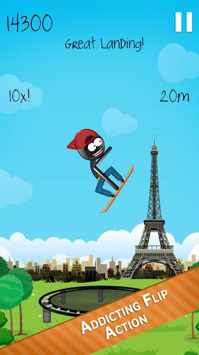 Stickman Trampoline FREE Backflip Jump Flip Master 4.8.1 screenshots 2