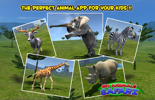 玩免費教育APP|下載My Animals - Safari Kids Game app不用錢|硬是要APP