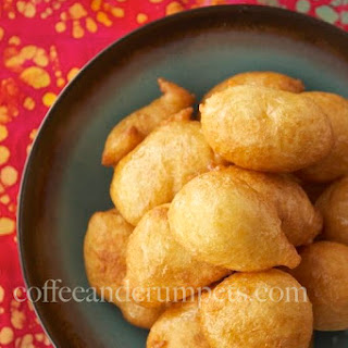 Luqaimat | Arabic Doughnuts with Orange Blossom Syrup