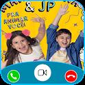 maria clara e jp Call Me! Fake Video Call icon