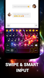 Cute Emoji Keyboard Premium - GIF, Emoticons Screenshot