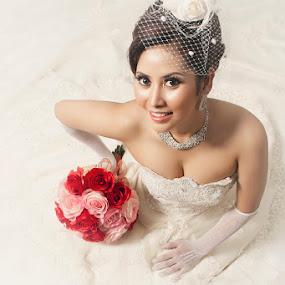 Smile by Fahmi Hakim - Wedding Bride