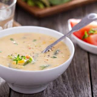 Slow Cooker Cream Of Potato Soup.