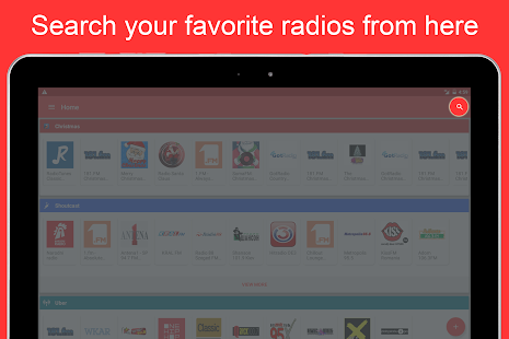 Internet Radio Player - Shoutcast- screenshot thumbnail