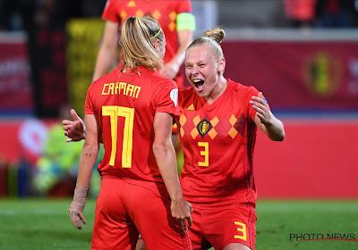 Le grand retour d'Ella Van Kerkhoven chez les Red Flames