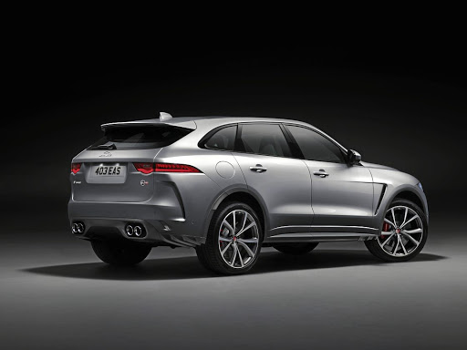 The SVO designers have given the F-Pace a more aggressive but functional look