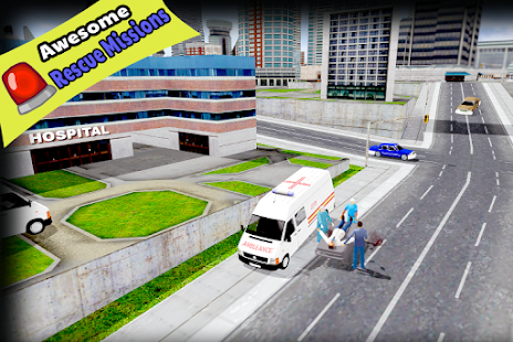 Ambulance Simulator Game - náhled