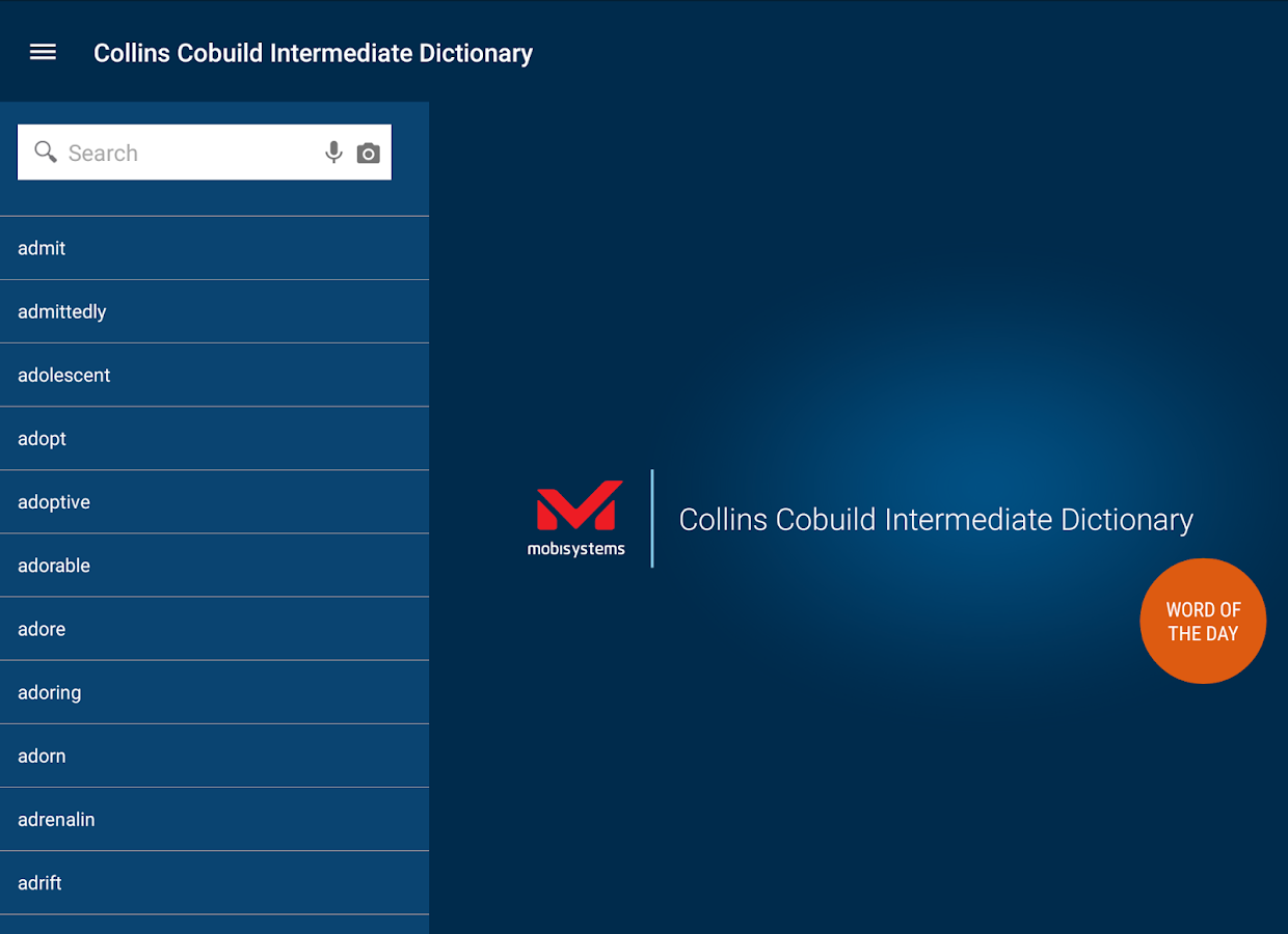 Collins Cobuild Intermediate- screenshot