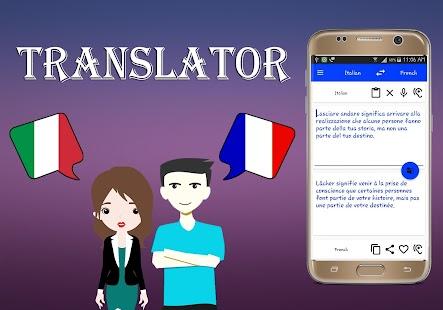 Italian To French Translator - náhled