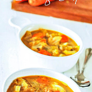 Vegan Cabbage Soup Recipes.