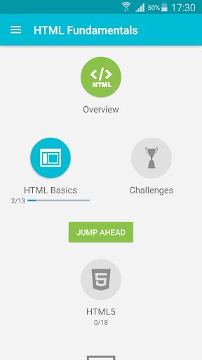 Learn HTML 5.5.2 screenshots 1
