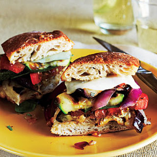 Grilled Farmers' Market Sandwiches Recipe