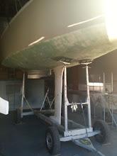 Photo: 2.10.2009 - le bateau est quillé !!!