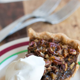 Bourbon-Ginger Pecan Pie