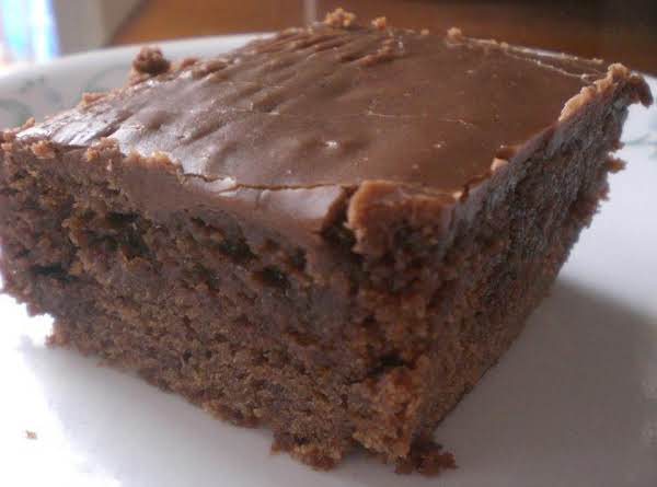 Double Chocolate Coca-cola Cake Recipe