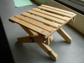 Photo: Folding stool Year 10 RM project