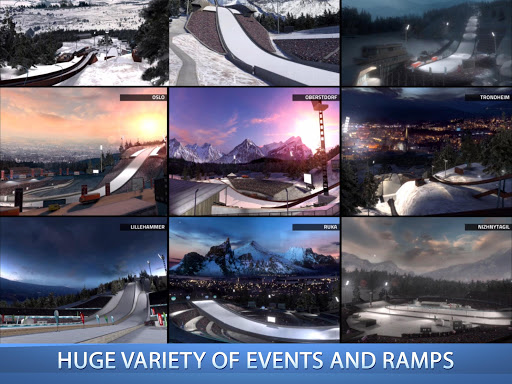 Ski Jumping Pro 1.9.8 screenshots 2