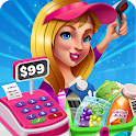Shopping Fever Mall Girl Games Supermarket Cooking icon