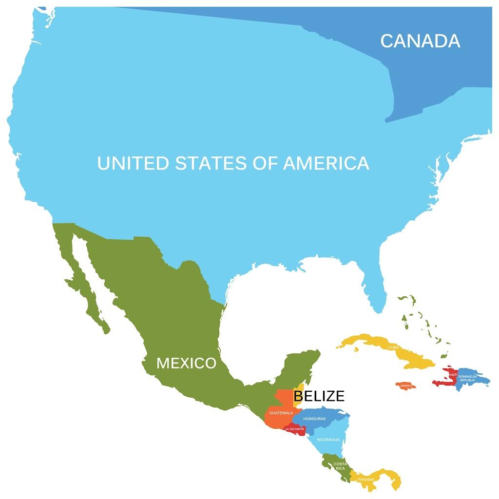 Belize in America Continent