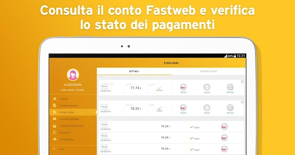 MyFastweb- screenshot thumbnail