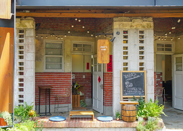 日本老屋愜意下午茶~橋頭糖廠最夢幻甜點咖啡店-吉米.夢綠食咖啡館