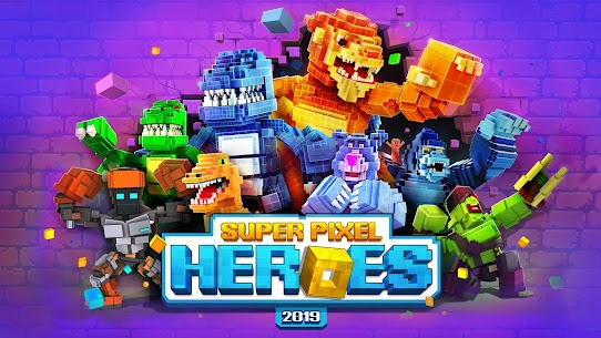 Super Pixel Heroes MOD (Free Shopping) 1
