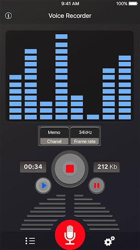 Voice Recorder 34 screenshots 9