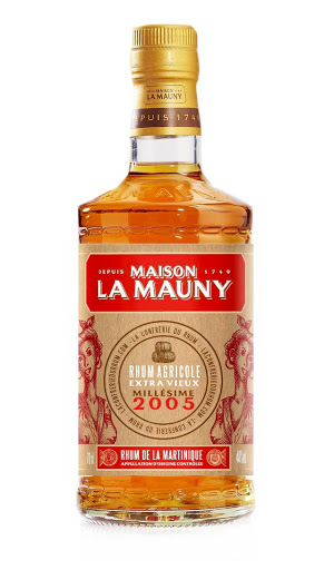 La Mauny 2005 pour  la confrérie du rhum