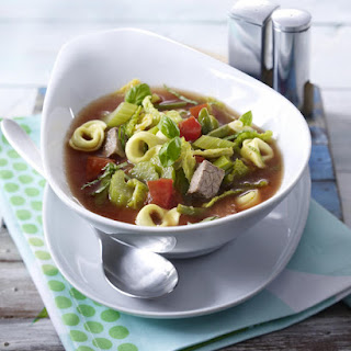 Tortellini and Beef Soup