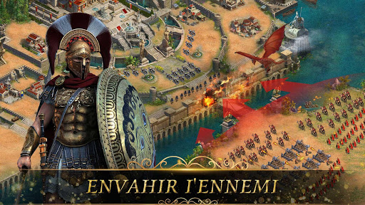 Clash of Epic War: Empire Origins  captures d'écran 3
