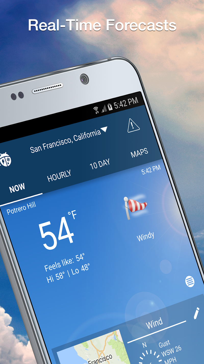 Weather by WeatherBug Screenshot 1