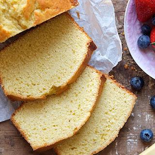 King Arthur Flour's Original Pound Cake.