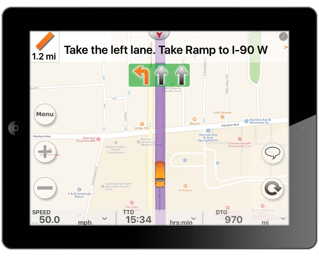 SmartBusRoute - Bus GPS Routing and Navigation- screenshot