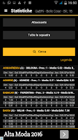 Screenshot of Fantacalcio Android