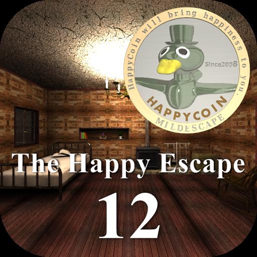 冒險App|脱出ゲーム ザ・ハッピーエスケープ12 LOGO-3C達人阿輝的APP
