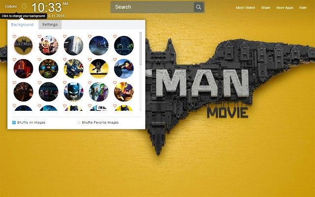 The Lego Batman Movie Hd New Tab Wallpapers