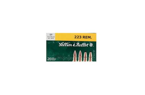 Sellier & Bellot 223Rem SP 55gr