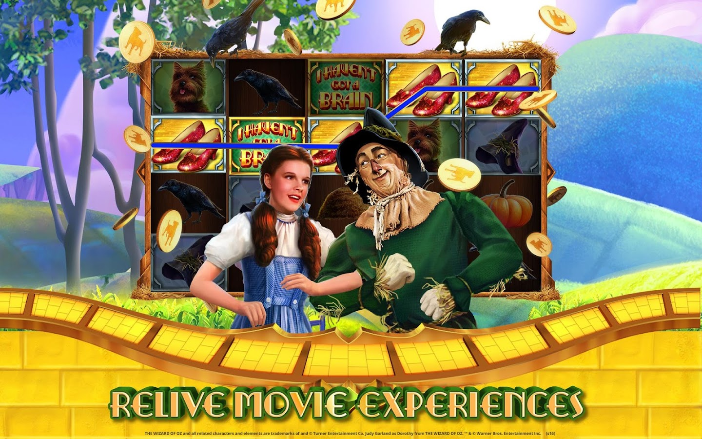 Play The Wizard of Oz Slot Machine Game for Free Online - No Download