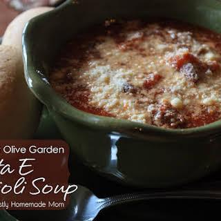 Pasta E Fagioli Soup.