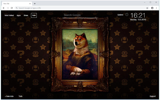 Doge & Nyan Cat HD Wallpapers New Tab Themes
