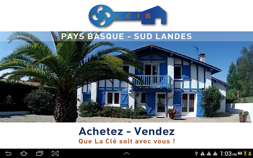 IMMOBILIER COTE ET PAYS BASQUE- screenshot thumbnail