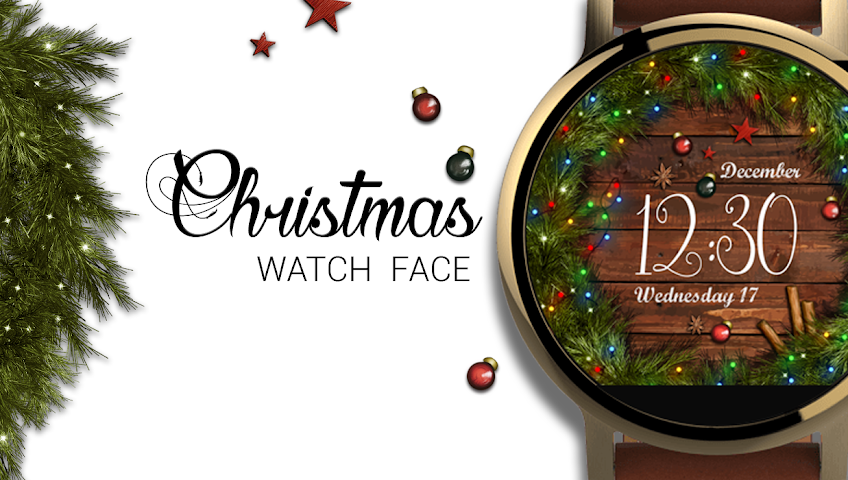 android Watch Face: Christmas Screenshot 0