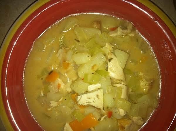 Turkey Soup, The Next Day Recipe