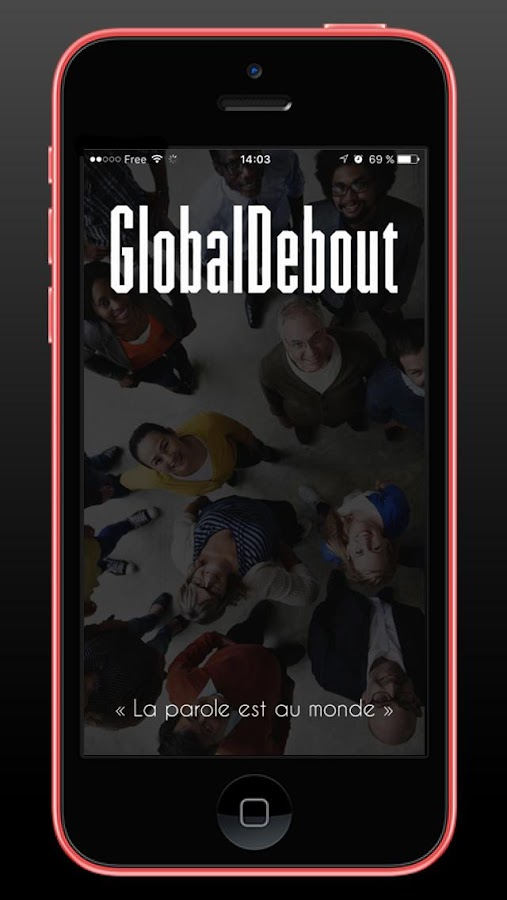 GLOBAL DEBOUT – Capture d'écran