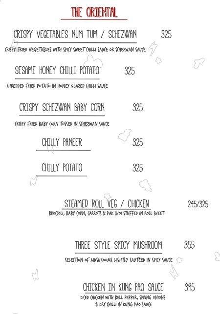 Open House menu 10