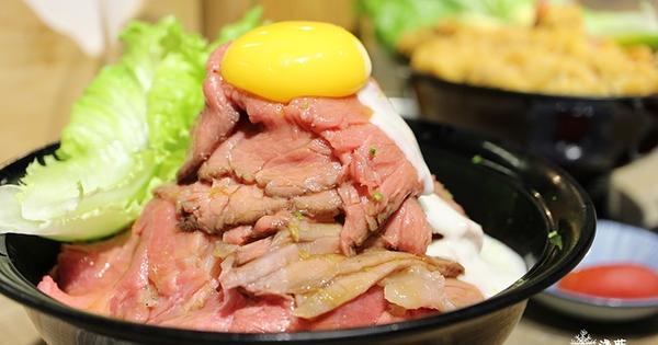 GYUU  NIKU  ステーキ專門店~炸牛丼、牛排丼、招牌玫瑰牛肉丼,還有好多下酒小菜