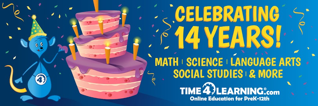 Time4Learning celebrating 14 years in business.