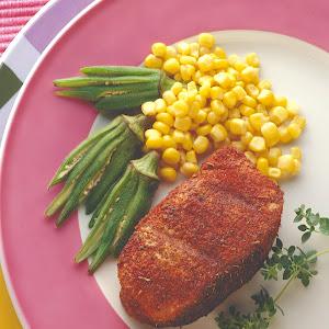 Cajun Grilled Chops