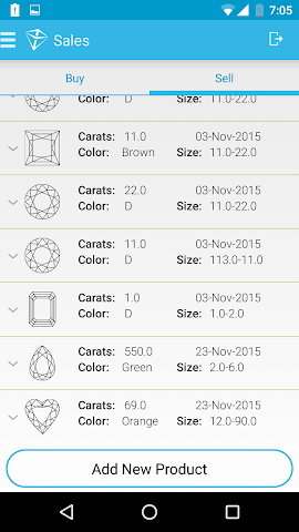android ADAMAS Screenshot 6